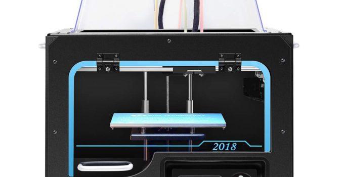 qidi tech i dual extruder desktop 3d printer full review
